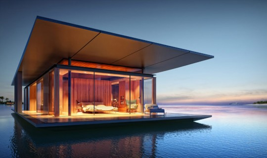 Floating House © malcew.com